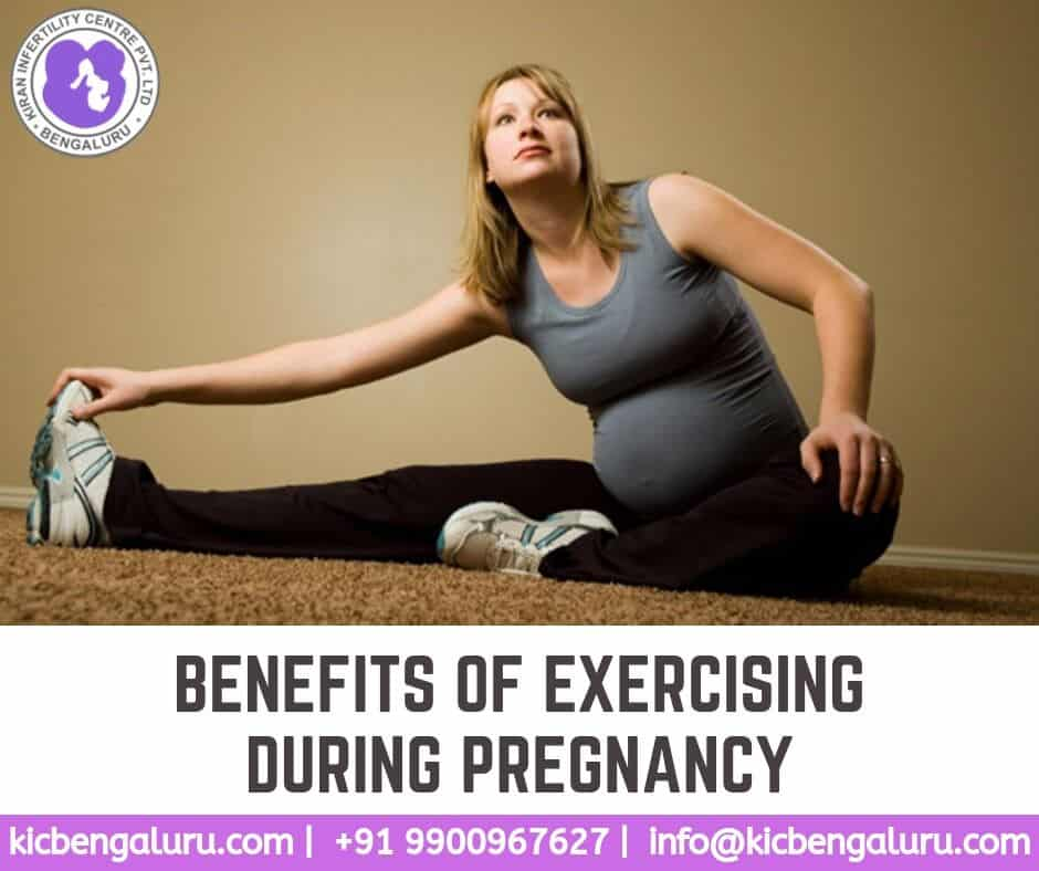 Benefits of exercising during pregnancy