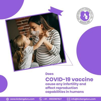 Does COVID-19 vaccine cause any infertility and affect reproduction capabilities in humans
