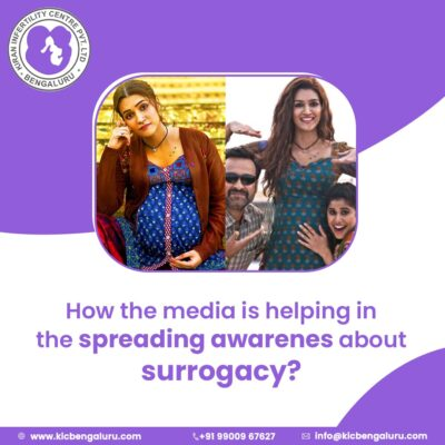 How the media is helping in the spreading awareness about surrogacy?